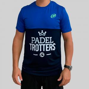 camiseta azul técnica