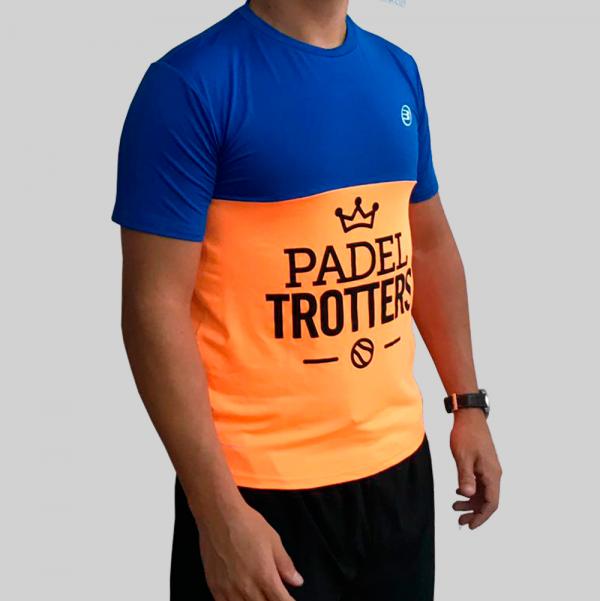 camiseta naranja fluor técnica 2