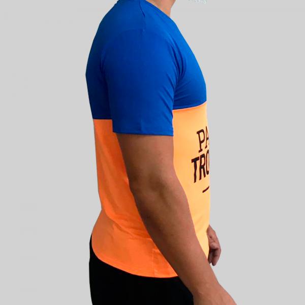 camiseta naranja fluor técnica 4