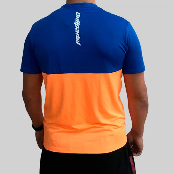 camiseta naranja fluor técnica 3